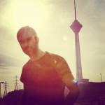 محمد بیباک و کامران مطیعی یک روز برفی