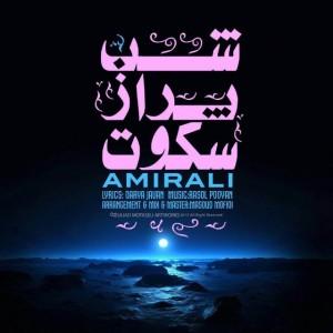 امیر علی شب پر از سکوت