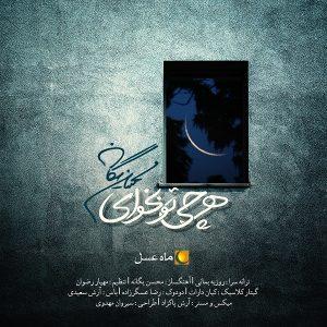 محسن یگانه ماه عسل