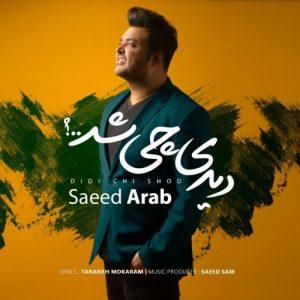 آهنگ سعید عرب دیدی چی شد