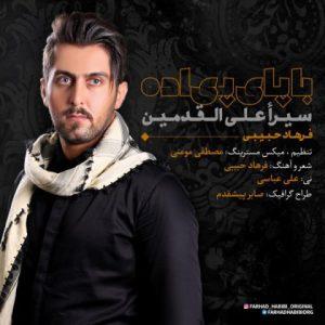 فرهاد حبیبی با پای پیاده