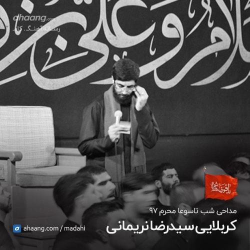 رضا نریمانی شب نهم محرم 97