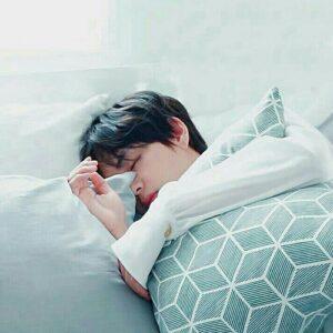 کیم تهیونگ Sleep